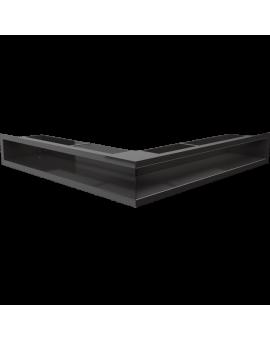 LUFT SF narożny czarny 56x56x9