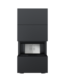 NBC 7 z zabudową HOME EASY BOX stalowy - czarny