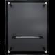 Biokominek GLASS czarny