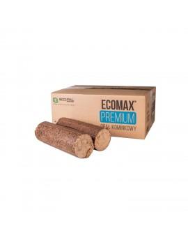Opał kominkowy Brykiet Eco-Pal 972 kg (81szt. x 12kg) ECOMAX PREMIUM